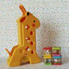 Fisher Price Peek A Blocks Tumblin' Sounds Giraffe