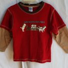 Boys Gymboree 3T  Yukon Dog Race Longsleeve Shirt