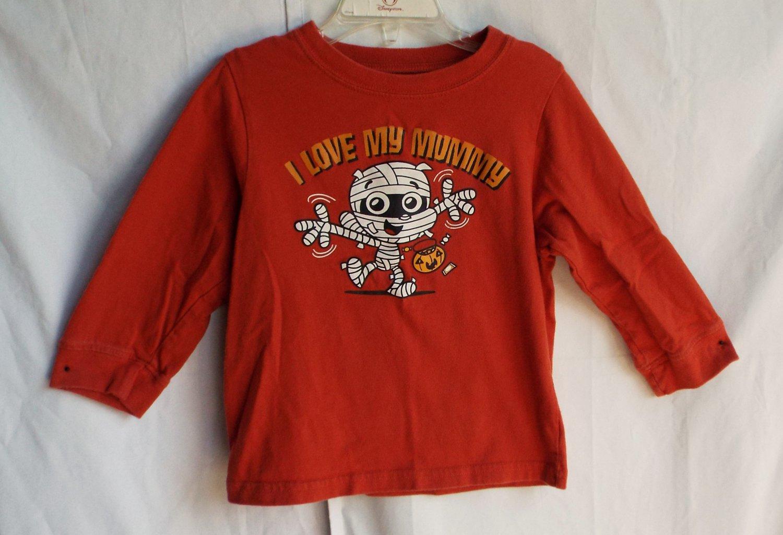 Boys Children's Place Halloween Mummy 3T Longsleeve Shirt TCP