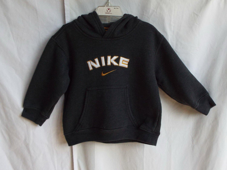 Boys Nike 3T Gray Longsleeve Hoodie Sweatshirt