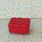 Barbie My Scene Cafe Red Ottoman Replacement