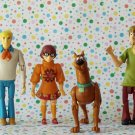 Scooby Doo Poseable Action Figure Lot