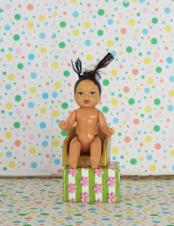 Barbie Happy Family Neighborhood Hispanic Baby Girl Doll