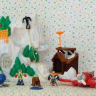 Fisher Price Rescue Heroes Micro Avalanche Mountain Playset