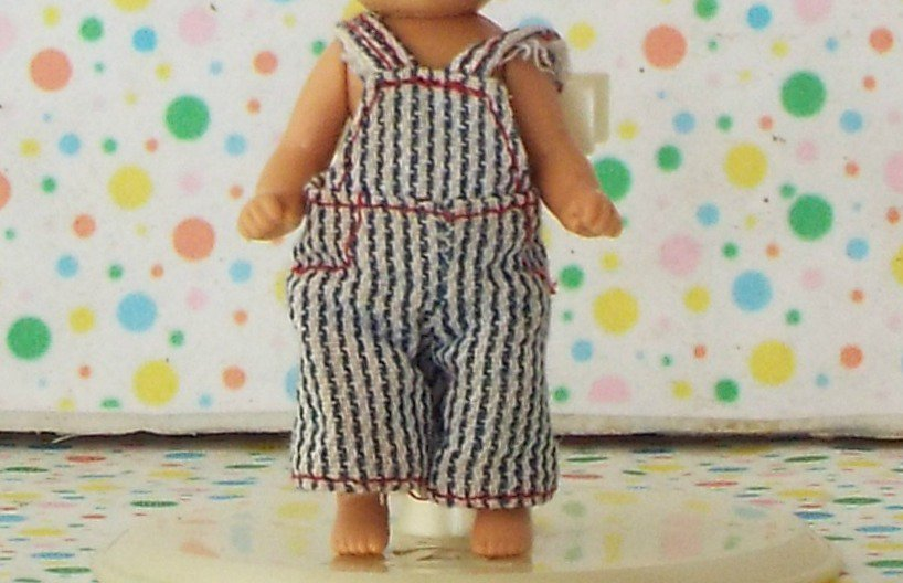 Barbie Happy Family Baby Friends 1st Birthday Boy Doll Overalls