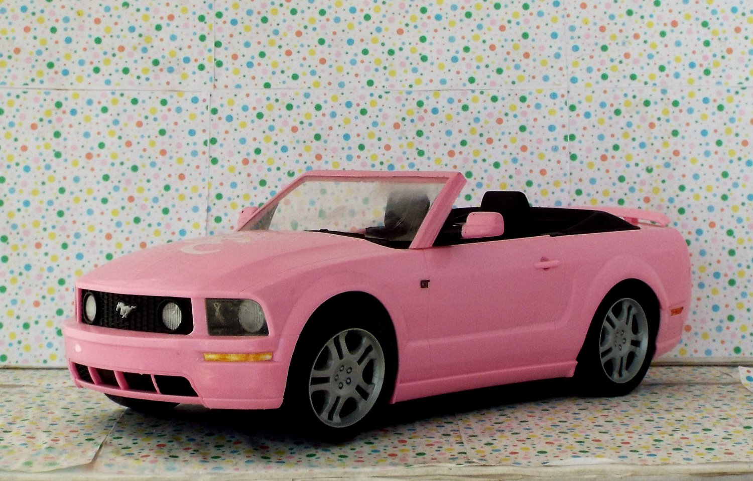 High School Musical Sharpay's Pink Mustang Car