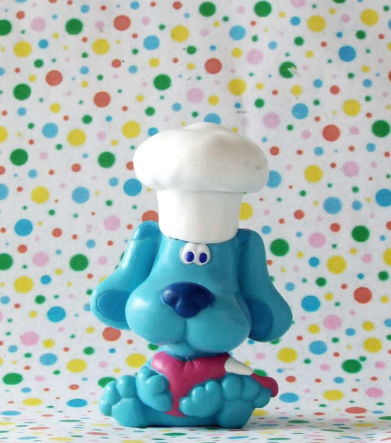 *6/16*SOLD~ Blues Clues DecoPac Cake Topper Figure