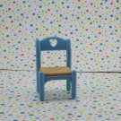 Fisher Price Loving Family Dollhouse Blue Kitchen Chair