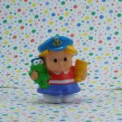 Fisher Price Little People Builders Floaty Boat Eddie Captain
