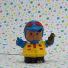 Fisher Price Little People Race Car Driver Roberto