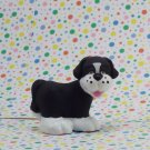 Fisher Price Little People Black Dog