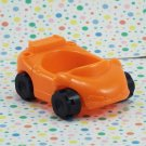 Fisher Price Little People Ramps Around Garage Orange Car