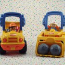 Fisher Price Little People Dozer and Dump Truck