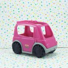 Fisher Price Little People Neighborhood Vehicles Purple Minivan
