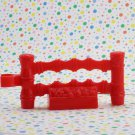 Fisher Price Little People Take Along Zoo Red Fence Part