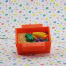 Fisher Price Little People Take Along Zoo Food Bin Part