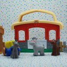 Fisher Price Little People Animals Sounds Stable Play Set