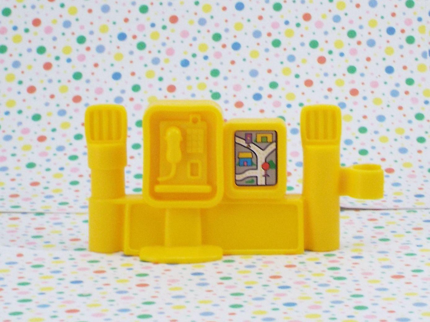 Fisher Price Little People Lil Roadside Helper Phone Map