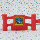 Fisher Price Little People Animal Sounds Zoo Gate Fence Part ~Blue Bird