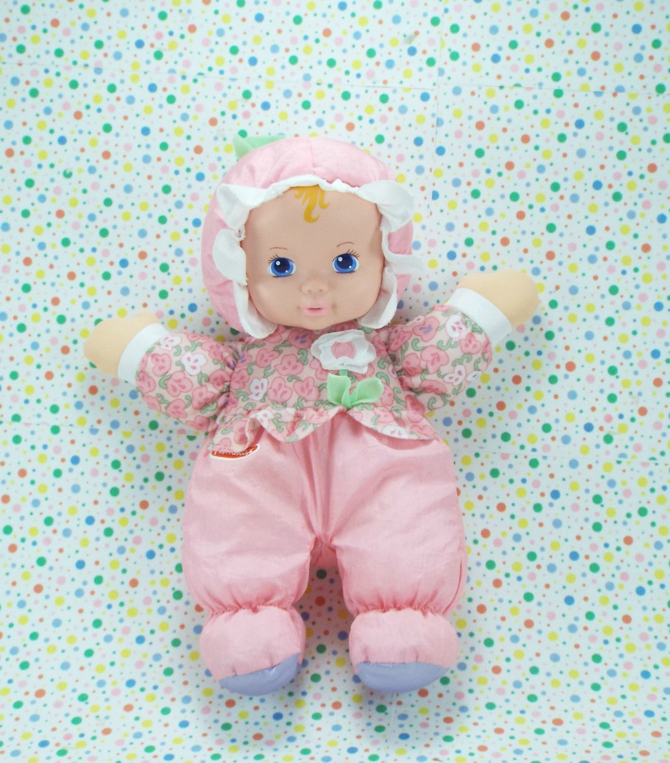 10 16 Sold Playskool My Very Soft Baby Doll Squeaky Baby Doll