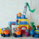 Fisher Price Little People Crane & Quarry Construction Worksite