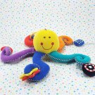 Kids Preferred Developmental Octopus Baby Toy Plush Lovey