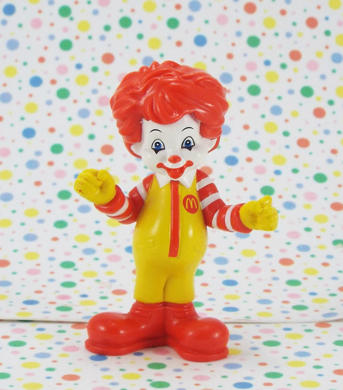 McDonald's Ronald McDonald Figure Under 3 Happy Meal Toy