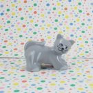 Lego Duplo Gray Cat Figure