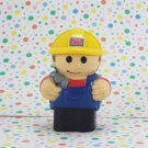 Mega Bloks Lil Dump Truck Driver Figure
