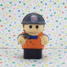 Mega Bloks Construction Worker Figure