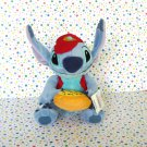 Disney Store Stitch Pizza Delivery Stuffed Animal