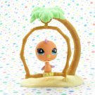 Littlest Pet Shop #767 Orange Parakeet ~ LPS Sportiest Pet Pairs