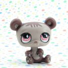 Littlest Pet Shop #594 Brown Panda ~ LPS Fanciest