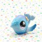 Littlest Pet Shop #824 Blue Whale Shimmer ~ LPS Messiest