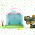 Littlest Pet Shop #141 Yorkie ~ LPS Portable Pets