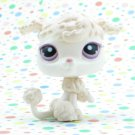 Littlest Pet Shop #390 French Poodle Dog ~ LPS Pets Around The World