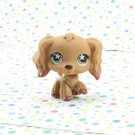 Littlest Pet Shop #716 Tan and Caramel Cocker Spaniel Dog ~ Target LPS Singles