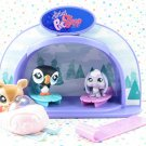Littlest Pet Shop Light-Up Dome Wintertime Pals