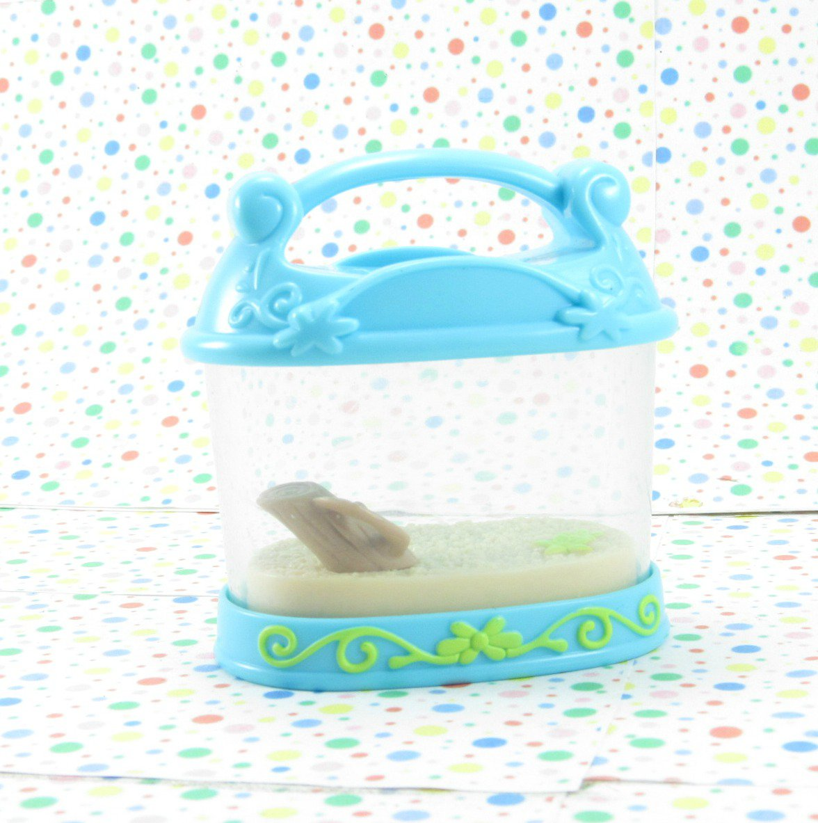 Littlest Pet Shop Portable Pets #928 Hermit Crab Case