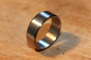 Mens Stainless Steel Ring Size 10.25 Only 1 available