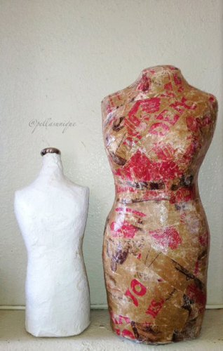 TJ's Upcycled Jewelry Body Form Mannequin