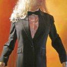 """Famous Unisex Formal Black 1"""" Tuxedo Bowtie 274594"""