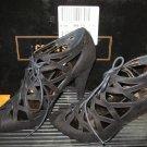 Victoria's Secret $65 Cutout Peeptoe Stiletto Sandals 7.5 247292