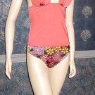 Victoria's Secret $76 Copper Goddess Push-Up Tankini Medium  217952