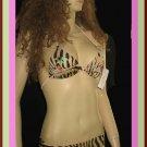 Victoria's Secret Letarte Leopard Print Bikini 10   162511