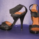 Victoria's Secret $78 Elastic Criss Cross Stiletto Sandal 9 259687