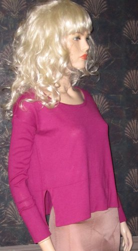 Victoria�s Secret $58 Pink Mauve Cashmere Sweater XS  247493