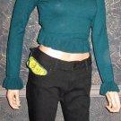NWT Mavi Black $120 Sophie Black Skinny Jeans 31 32  838121