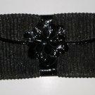 Maurizio Taiuti Italian Made Black Leather Envelope Clutch maur16