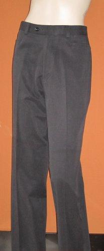 Brandini Classic $80 Flat Front Wrinkle Free Men's Black Pants 32 x 32  4852